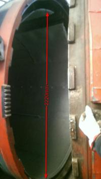 Autoclave grande OLMAR 66V24