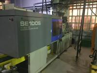 Inyectora de 100t 100% eléctrica SUMITOMO SE100S 2000