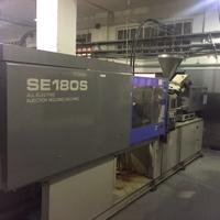 Inyectora de 180t 100% eléctrica SUMITOMO SE180S 2002